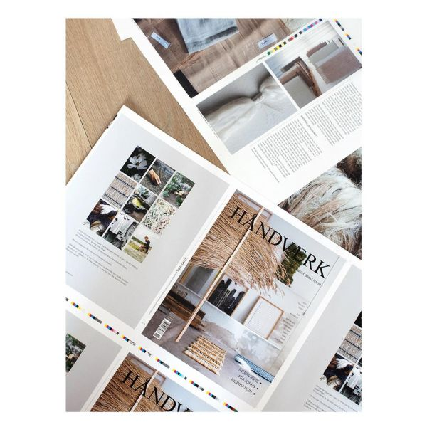 New article online- link in profile and scroll down  It's about where and how HÅNDVÆRK bookazine is printed and what materials it uses  #bookazine
