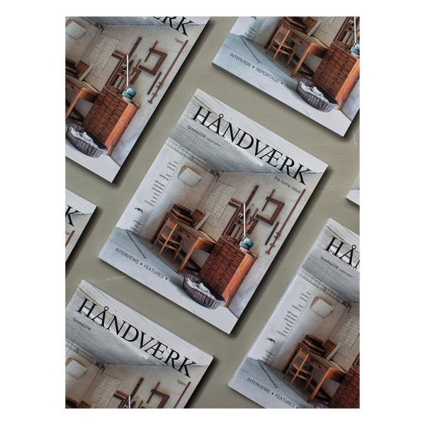 HÅNDVÆRK bookazine is a biannual advertising-free bookazine about crafts and design.