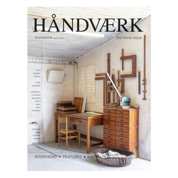 HÅNDVÆRK bookazine no.3 The home issue English text eller på dansk Shop:  link in profile  #håndværkbookazine #haandvaerkbookazine  #photorigettaklint  #craft #craftmanship #handmade #craftmakers